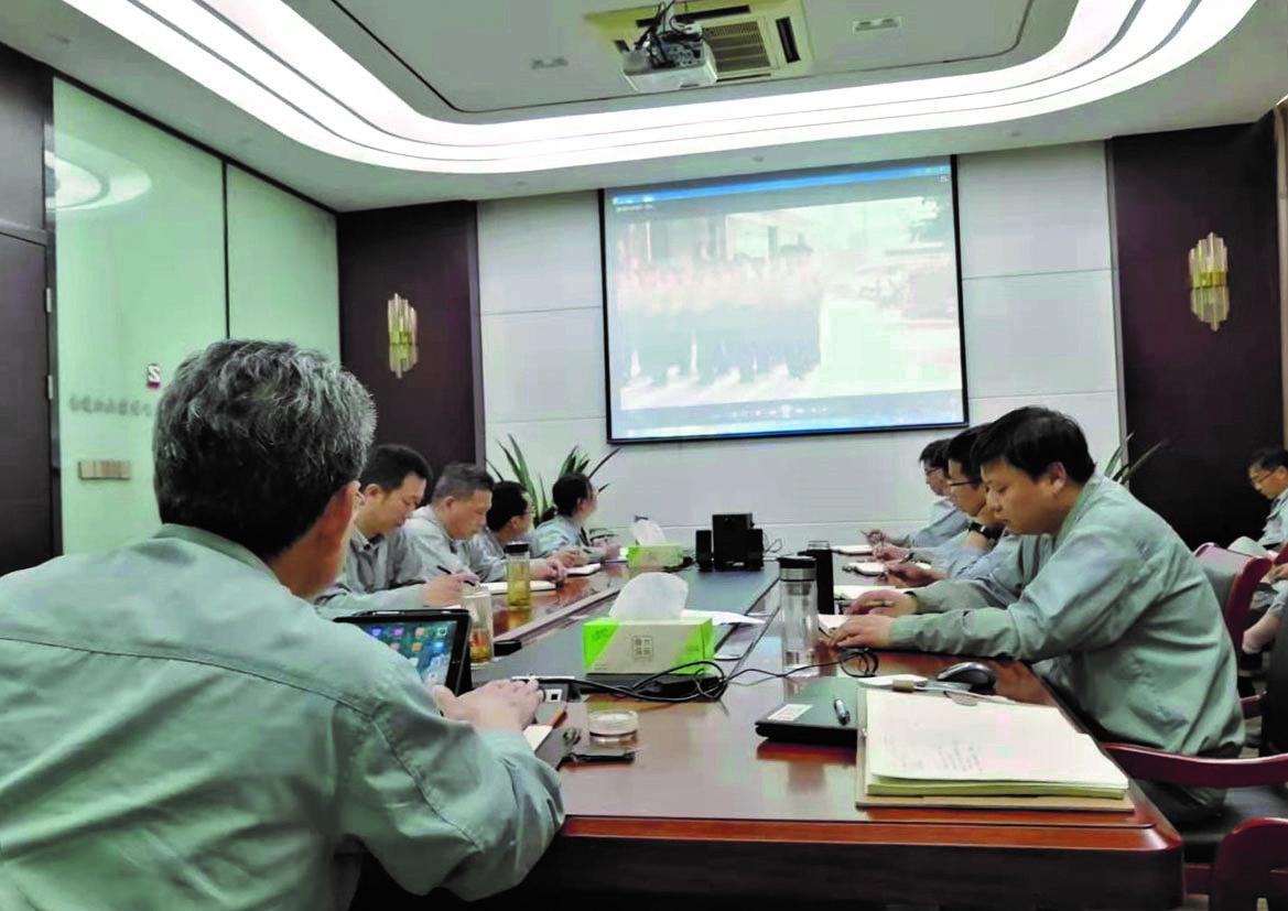 江山股份各基层支部组织开展党史学习教育和党风廉政教育活动